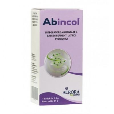 ABINCOL 14STICK OROSOLUBILI