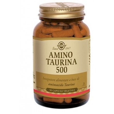 AMINO TAURINA 500 50CPS SOLGAR
