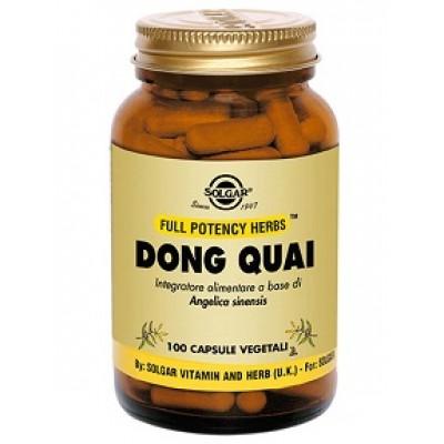 DONG QUAI 100VEGICPS SOLGAR