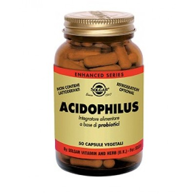 ACIDOPHILUS 50CPS VEG SOLGAR