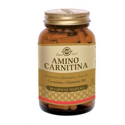 AMINO CARNITINA 500 30CPS SOLGAR