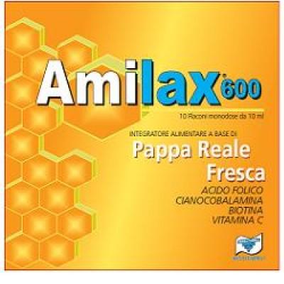 AMILAX 600 10 FLACONCINI 10ML