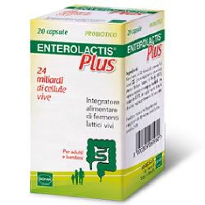 ENTEROLACTIS PLUS 20 CPS