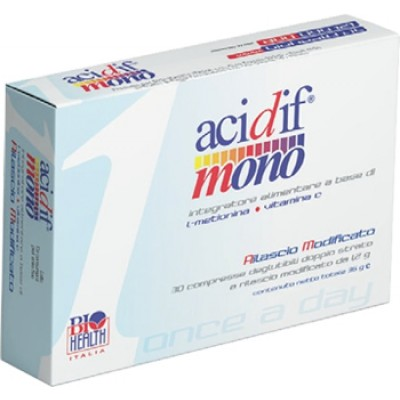 ACIDIF MONO INT ALIM 30CPR