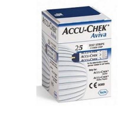 ACCU CHEK AVIVA 25STR