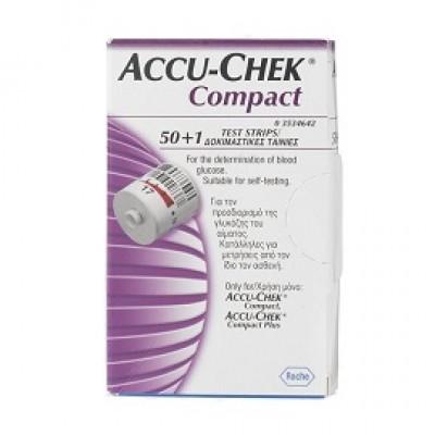 ACCU CHEK COMPACT STRISC 17PZX3