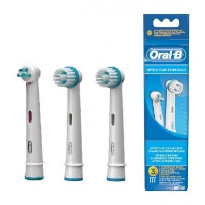 ORAL-B ORTHOCARE ESSENTIALS 3P
