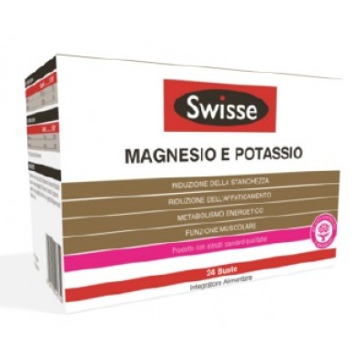 SWISSE MAGNESIO POTASSIO 24BUST