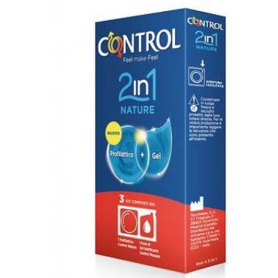 CONTROL 2IN1 NATURE+LUBE 3PZ