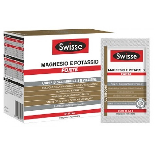 SWISSE MAGNESIO POTASS FT24BUS