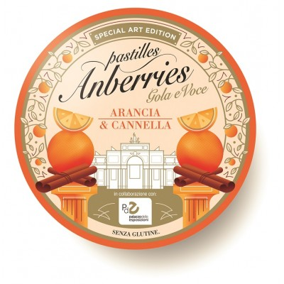 ANBERRIES ARANCIA & CANNELLA 55G