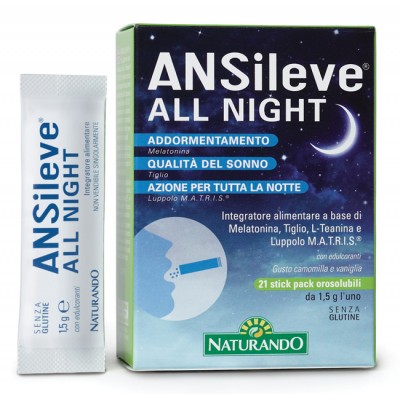 ANSILEVE ALL NIGHT 21STICK PAC
