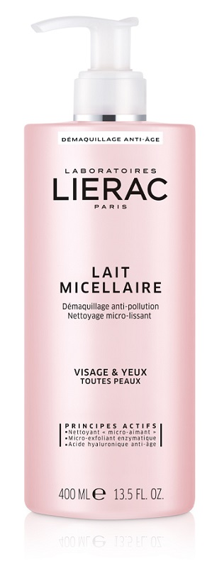 LIERAC LATTE MICELLARE 400ML